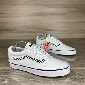 🔥 NWOB|VANS Ward Dx Skate sk8 Shoes white